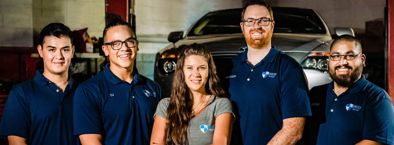 Bavarian Motor Repairs Team